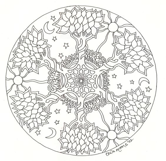 Mandalas, Celtic mandala and Celtic on Pinterest