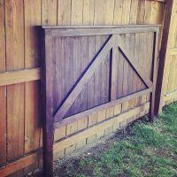 Twin/Full/Queen/King Size Barn Door Headboard. Barndoor ...
