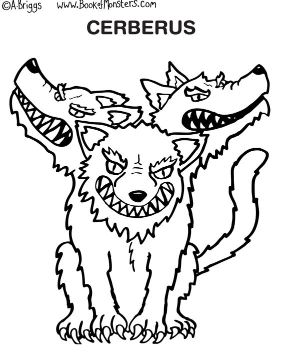 Greek monsters, Coloring pages and Coloring on Pinterest