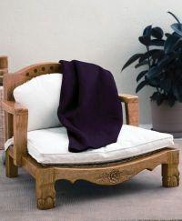 Gaiam Raja meditation chair, made from sustainable mango ...
