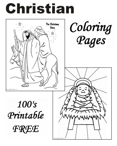 The Christmas Story coloring pages are just a few of the