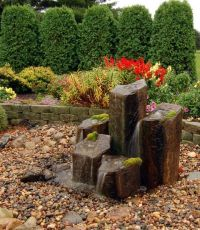 Fountain ideas, Front yards and Yards on Pinterest