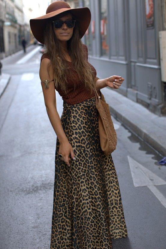 Maxi skirt: