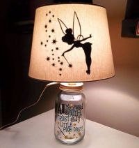Tinkerbell lamp!! | DIY & Inspirations | Pinterest | Jars ...