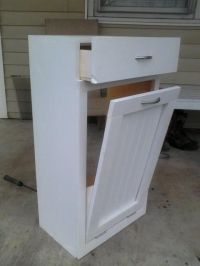 Tilt Out Trash Bin   Do It Yourself Home Projects from Ana ...