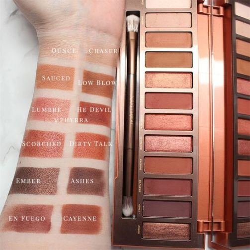 The Urban Decay Naked Heat Palette is a must have!