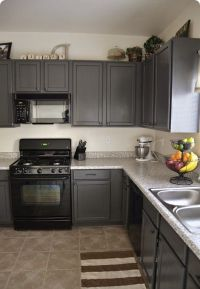 kitchens with grey painted cabinets | Painting Kitchen ...