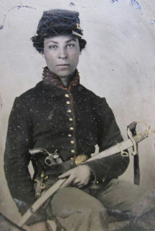 African American Union Cavalryman More: