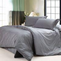 DIAIDI,Solid Dark Grey Bedding Sets,Luxury Grey Comforter ...