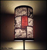 """Comics Lamp Shade Lampshade """"Comic Strip"""" - Lighting ..."""