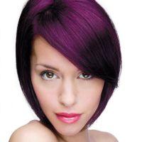 permanent purple hair dye without bleach | Purple hair ...