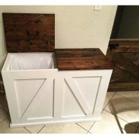 Trash can holder   For the home   Pinterest   Can holders