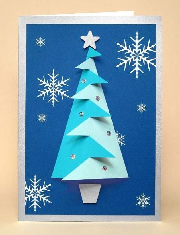 árvore de natal - azul: