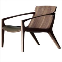 The Linna armchair is a more gentler side from designer ...
