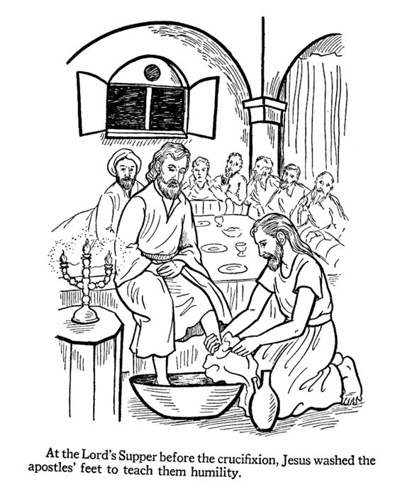 beloved blue: Jesus washes their feet. go do the same