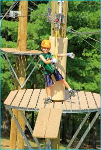 backyard zip line platform | HomeBuildDesigns | Pinterest ...