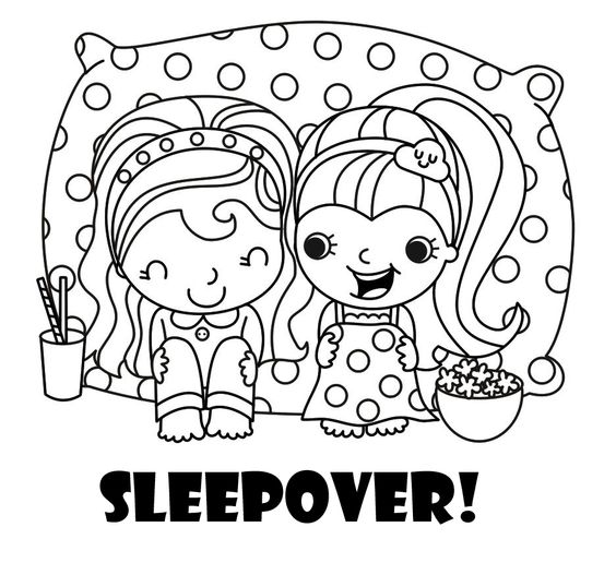 Sleepover party, Activities and The o'jays on Pinterest