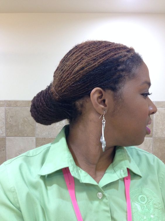 Sisterlocks at 2 years 8 months This will definitely be my go to summer style  Sassy