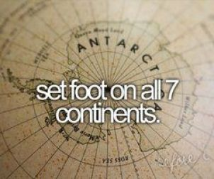 on my bucket list. checked off America, Africa & Europa already- Asia&Australia still missing. but of course I'll have to go back in some places, I haven't set foot properly enough... ^^