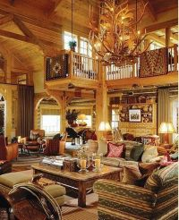 Awesome, Cabin and Cabin interiors on Pinterest
