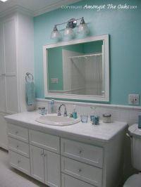 Tiffany Blue Bathroom. Maybe for the powder room. White ...