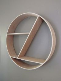 Round Shelf | Floating Shelves | Round Wall Shelf ...