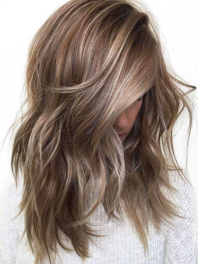 beige brunette: