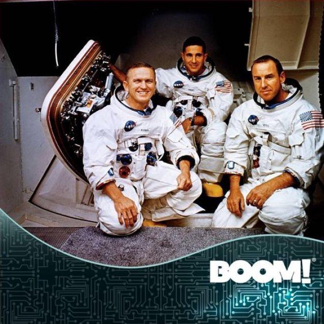 Un día como hoy pero de 1968 despega la nave espacial #Apolo8, que rodearía la Luna.: