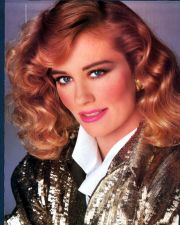 1980s makeup and hair.personally