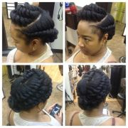 protective style flat twists
