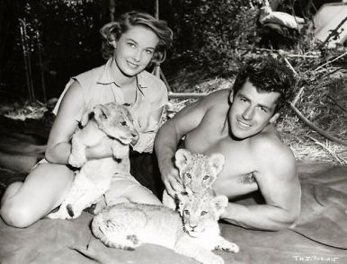 Image result for gordon scott and vera miles as tarzan