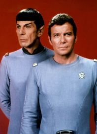 Image result for star trek 1966 kirk and spock