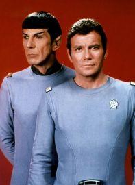 Image result for star trek 1966 kirk and spock