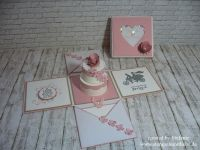 Stampin Up - Explosionsbox - Explosion box - Wedding box ...