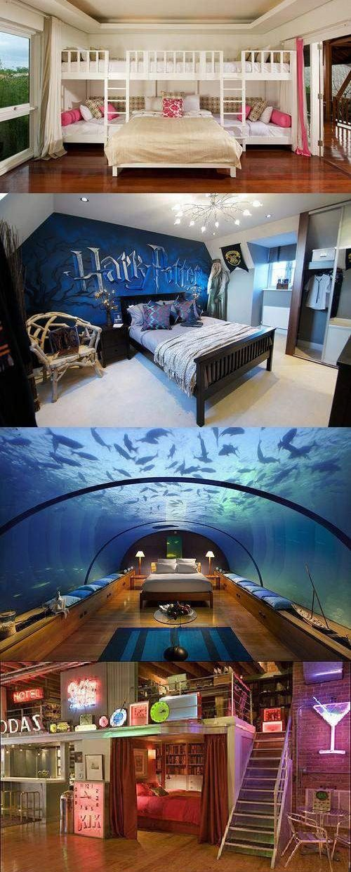 Awesome Harry potter bedroom and Bedroom ideas on Pinterest