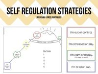 Self Regulation Worksheets Free Worksheets Library