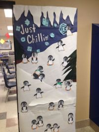 Winter Classroom Door Decorations. Have each kid take a
