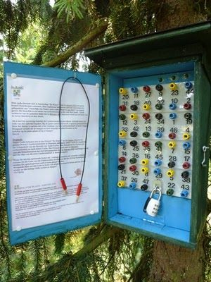 Puzzle geocache Looks like it was made by an electrical engineer   Geocache Puzzles