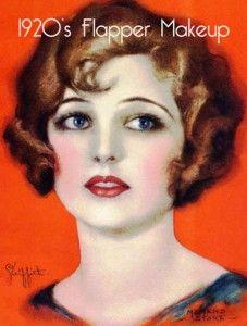 1920's-Flapper-Makeup: