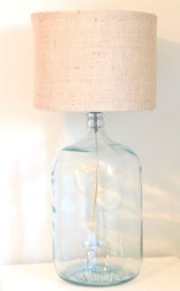 DIY Drum Lamp Shades--2 embroidery hoops, a wire clothes ...
