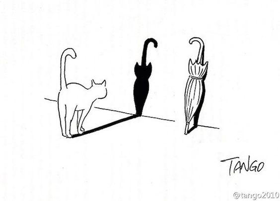 Delightful Illustrations Of Animals Turn Everyday Scenes