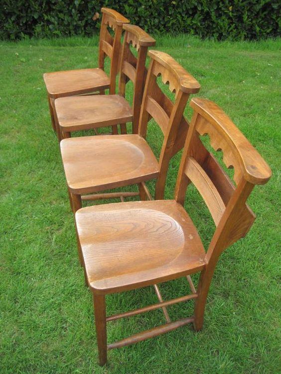 65 Reclaimed Antique Victorian Church Chairschurchused