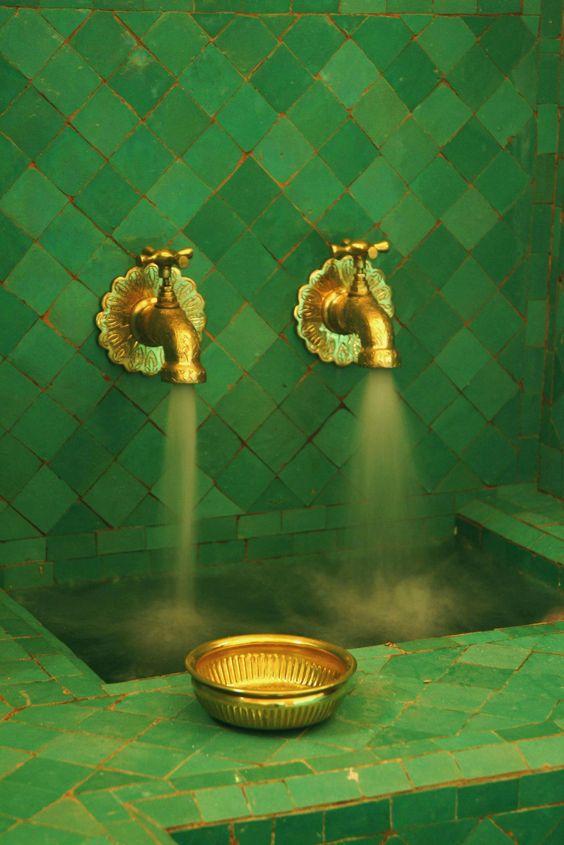 moroccan#green#tile More: