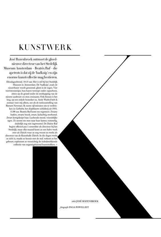 Harpers Bazaar Nederland. Art Direction by Tara van