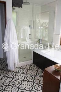 Granada Tile's Normandy cement tile design brings a dash ...