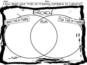 Compare and Contrast Freebie inspired by Boo! by Robert