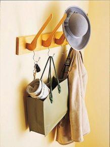 DIY Decoração: O que fazer com: Cabides: