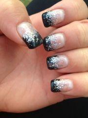 fresh set of gel nails