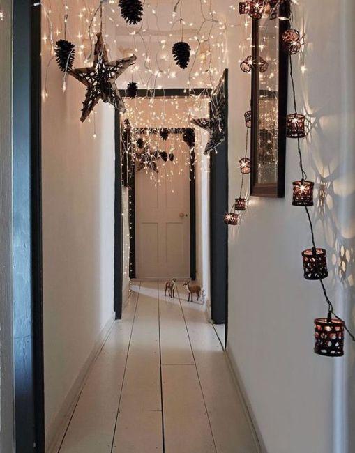 Instrucciones para una decoración navideña fácil