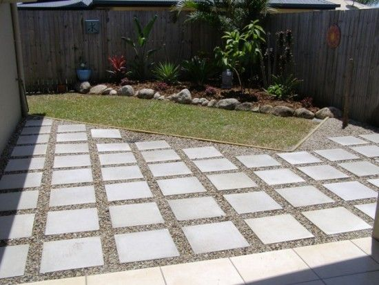 diy extending concrete patio with pavers  Patio pavers with spaces  Backyard  Pinterest  Concrete patios Patio and Spaces